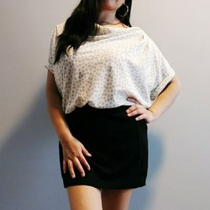 LOFT black and white dress size 6